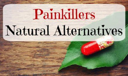 Painkillers – Natural Alternatives