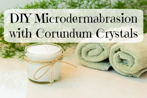 DIY Microdermabrasion with Corundum Crystals