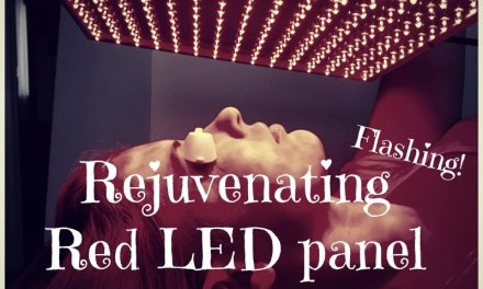 DIY Rejuvenating Red LED panel