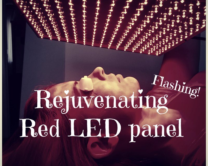 DIY Rejuvenating Red LED panel