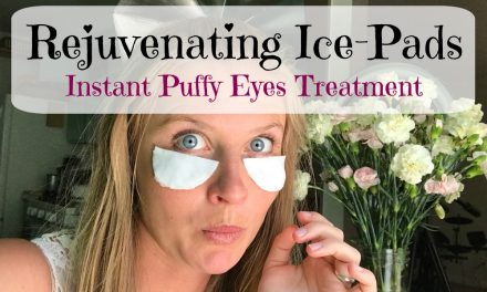 Rejuvenating Ice Pads – baggy eyes natural solution
