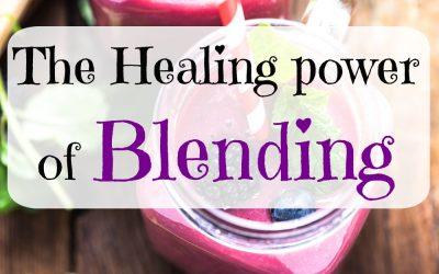 The healing power of blending
